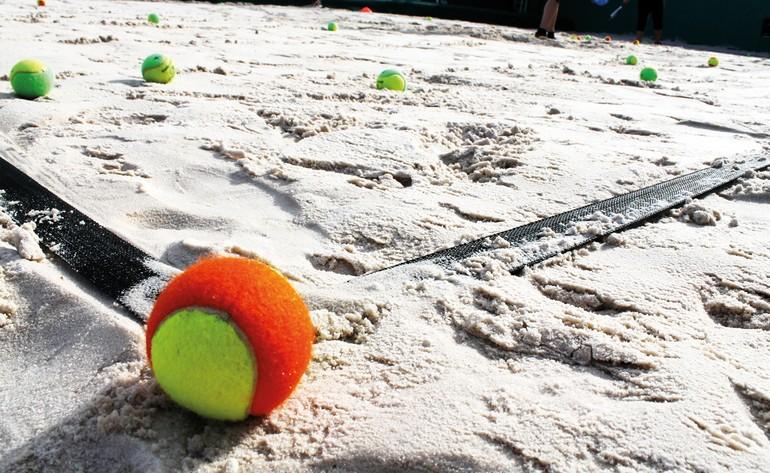 Areia Tratada Natural para Quadra - Bemboladas