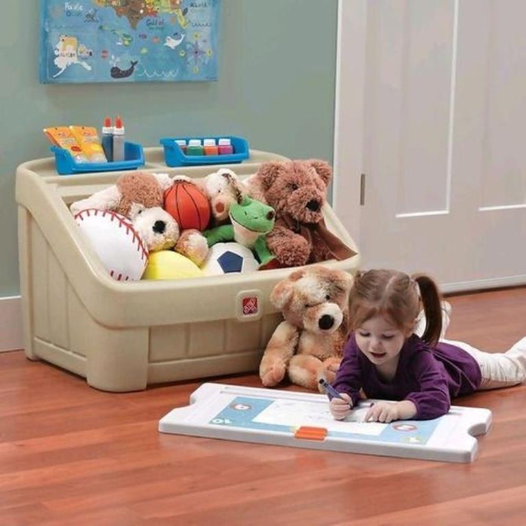 Baú Guarda Brinquedos Step2 - Envio Imediato