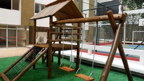 Playground de Madeira Casa do Tarzan - Bemboladas