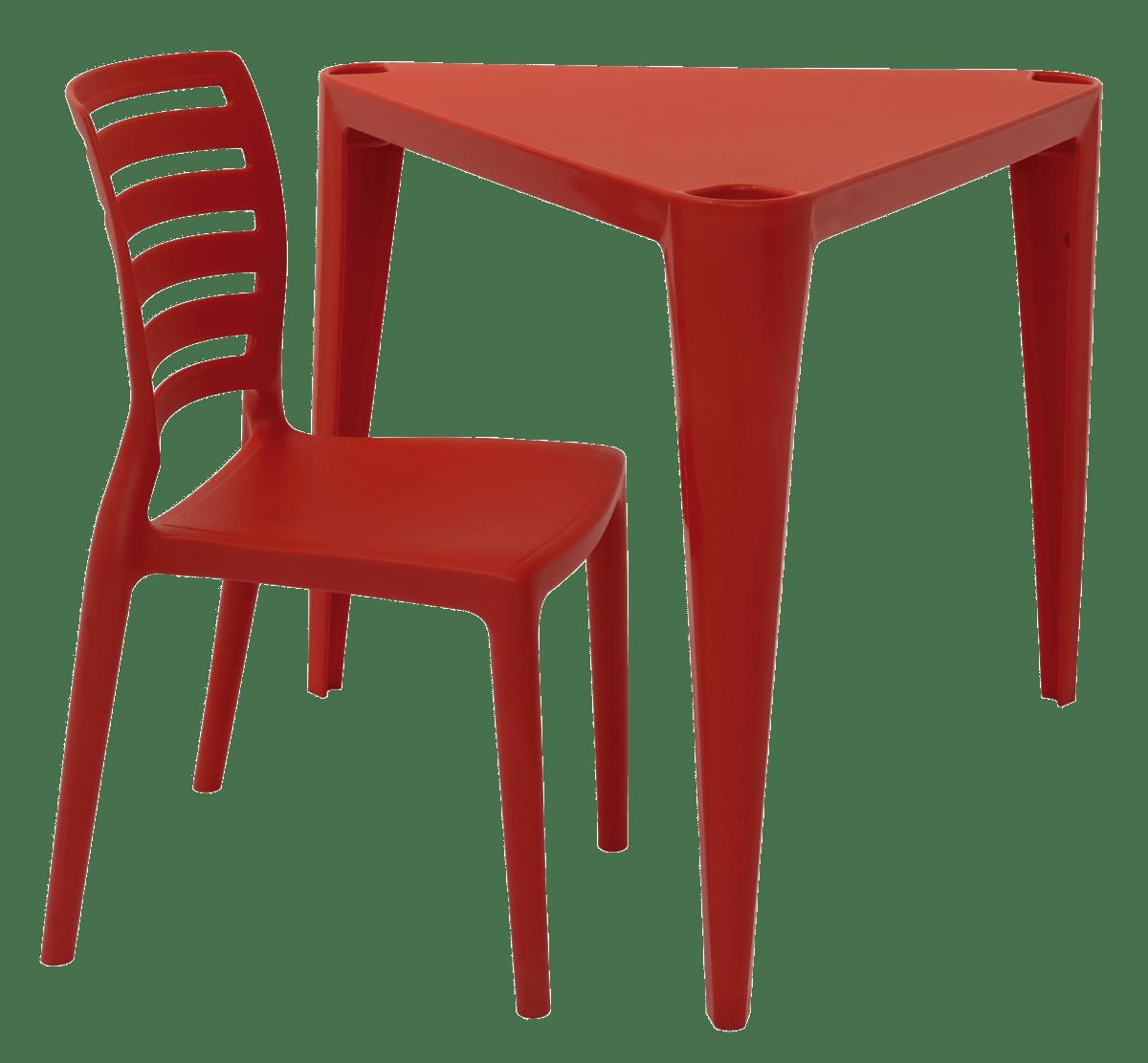 Mesa e Cadeira Infantil Sofia - Tramontina