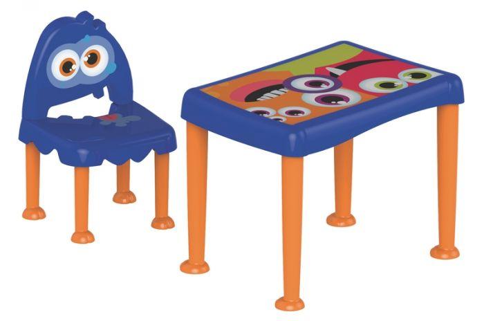 Mesa e Cadeira Monster - Envio Imediado