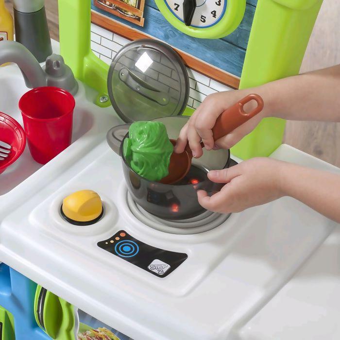 Cozinha do Pequeno Chef Step 2 - Envio Imediato