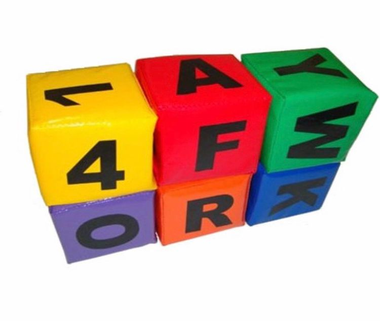 Cubos Alfabeto Bemboladas - Envio Imediato