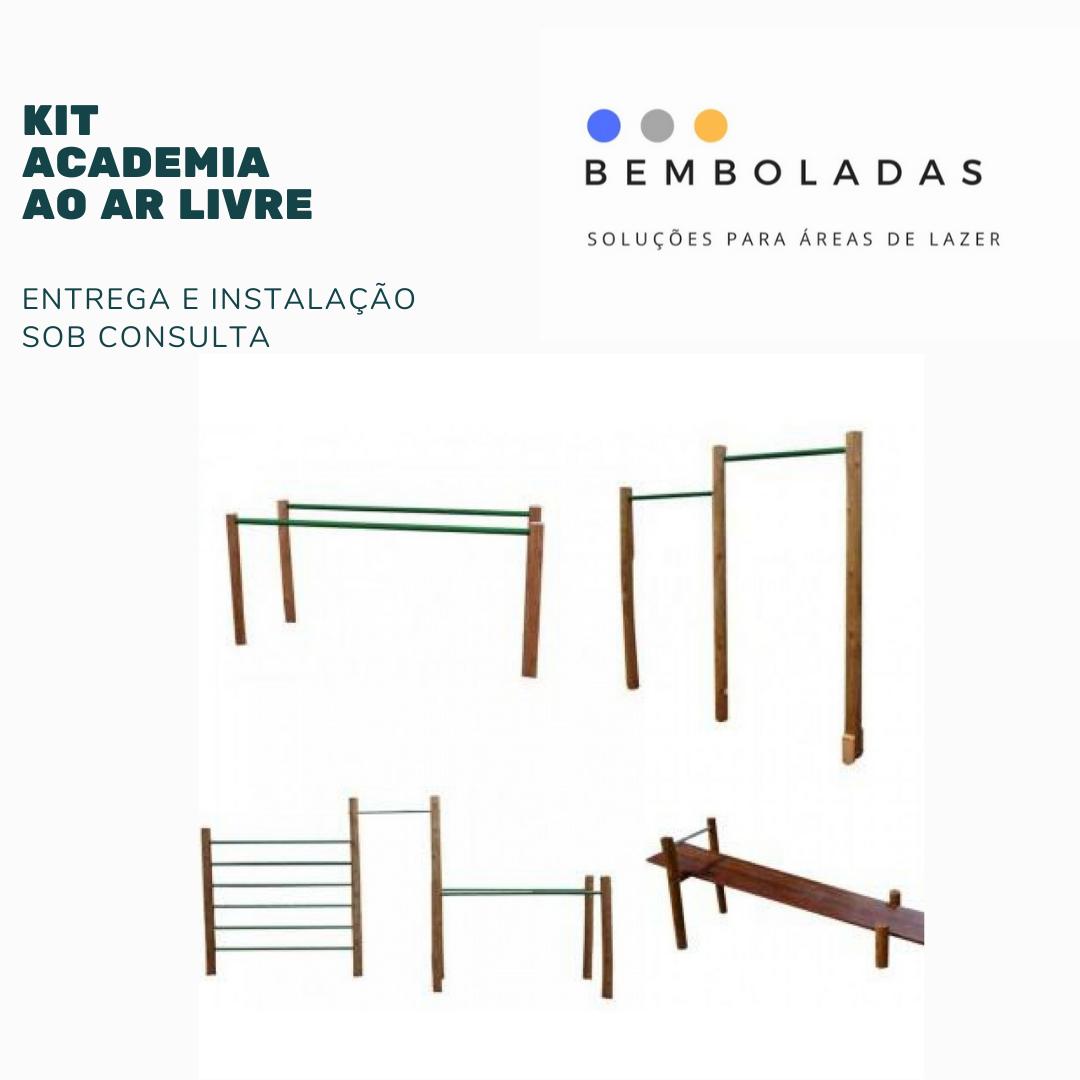 Kit Academia ao Ar Livre - Bemboladas