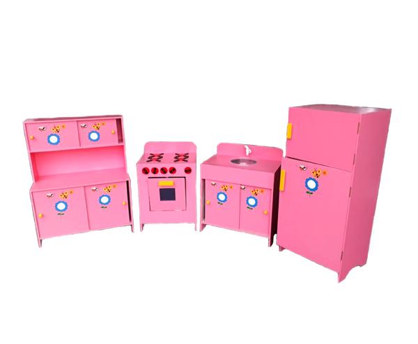 Conjunto Cozinha Infantil de Madeira - Envio Imediado