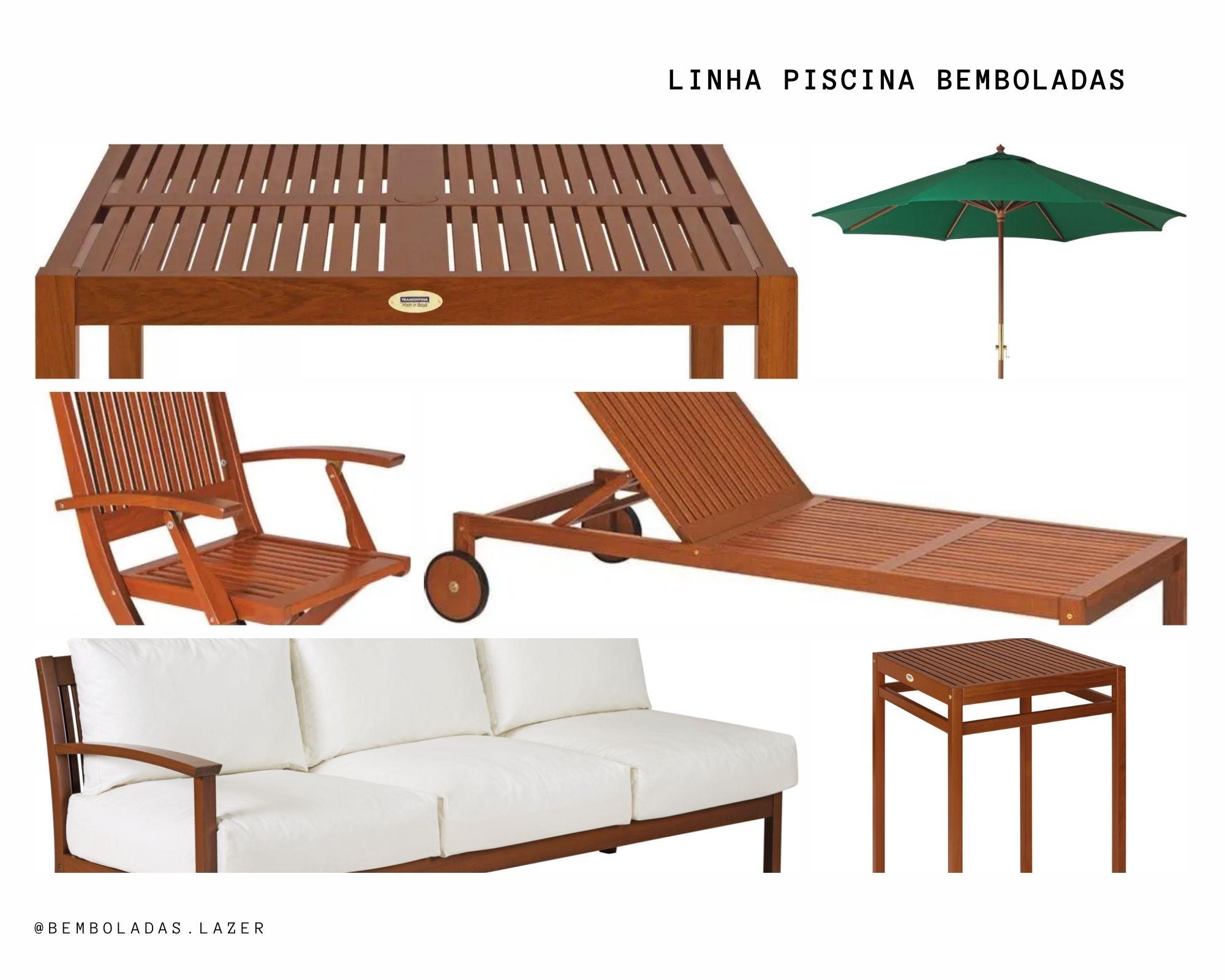 Kit Piscina - Bemboladas