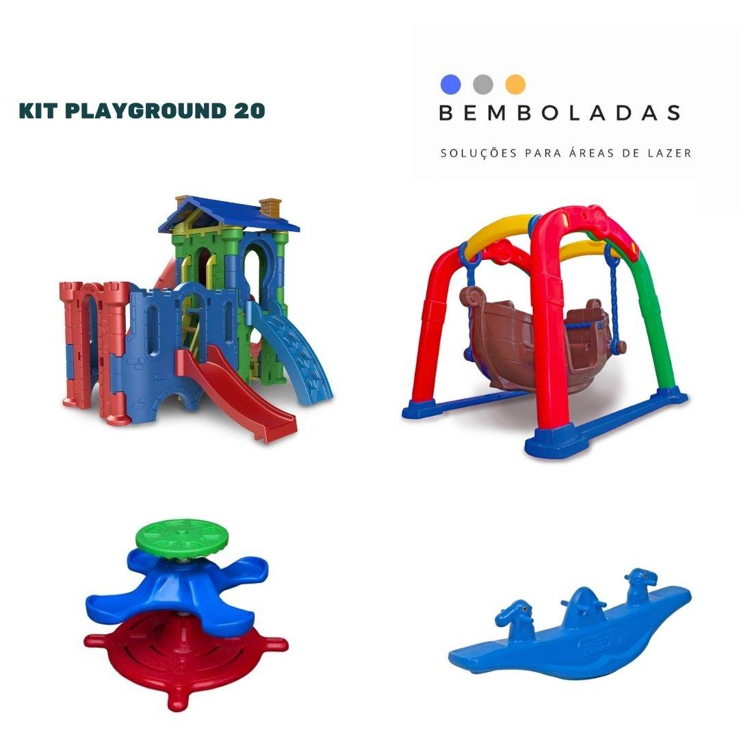 Kit Playground - Bemboladas