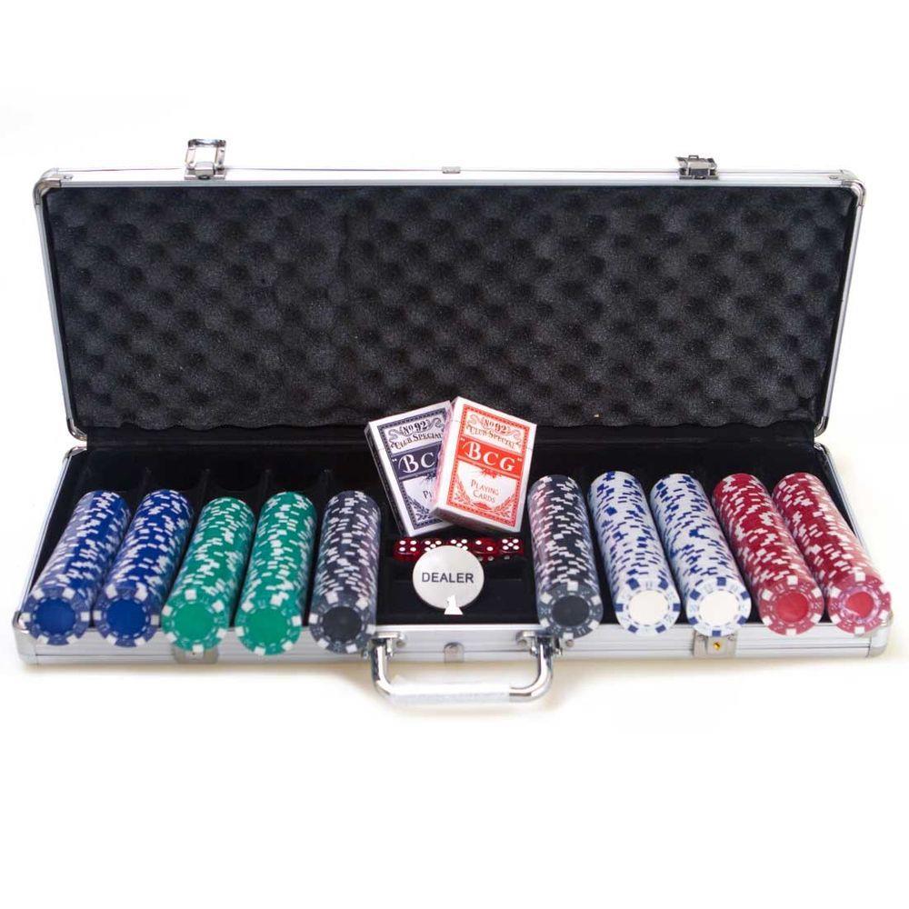 Maleta Poker 500 Fichas - Envio Imediato