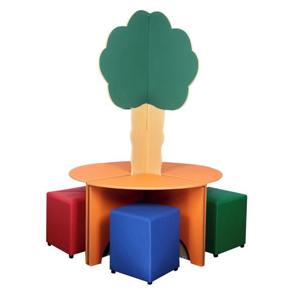 Mesa Árvore Bemboladas