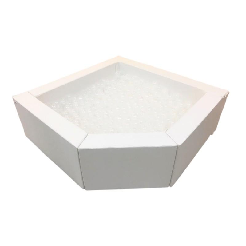 Piscina de Bolinhas Branca - Bemboladas