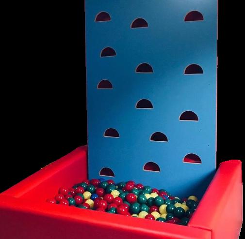 Piscina de Bolinhas com Escalada Sob Medida - Bemboladas