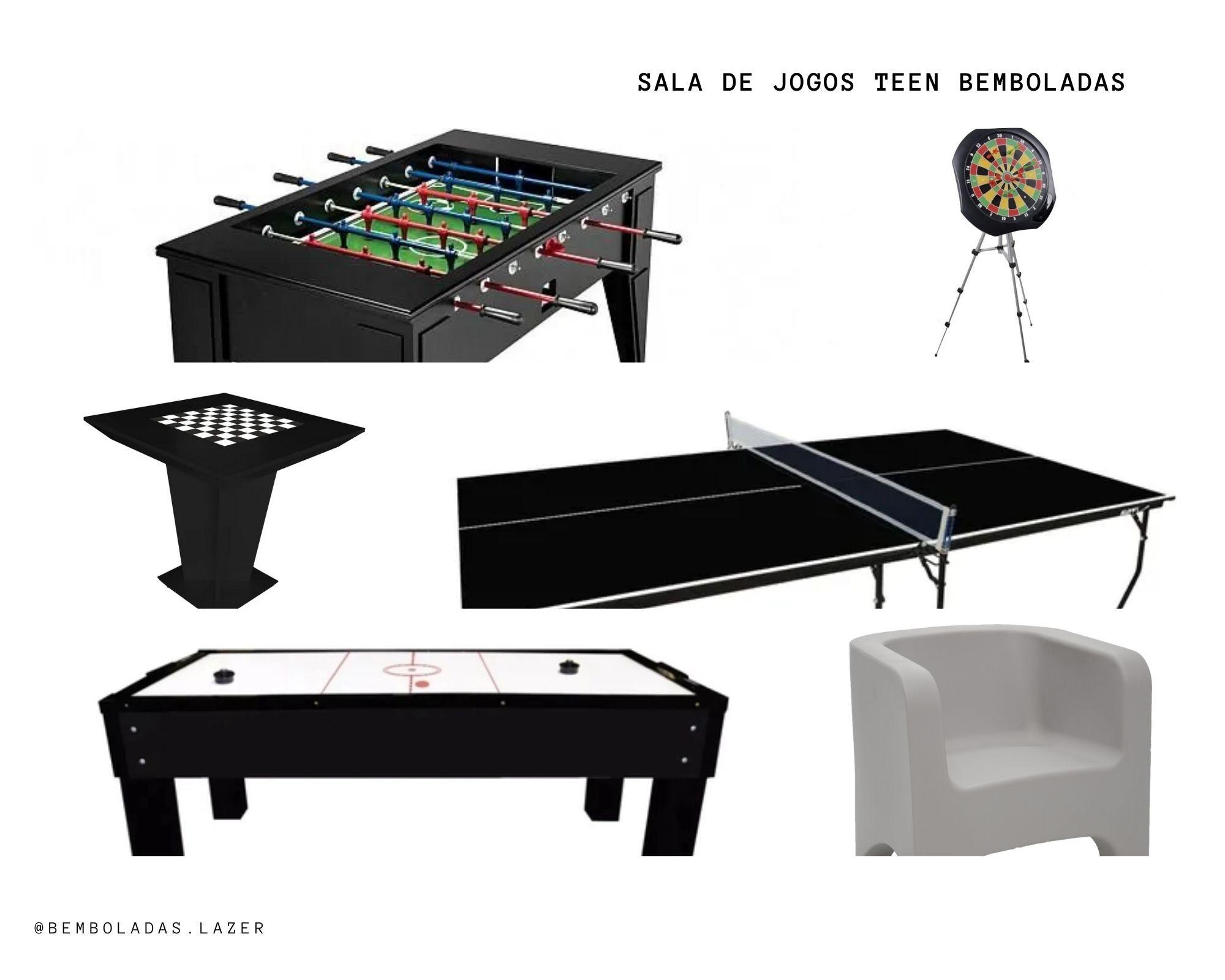 Kit Sala de Jogos Teen -  Bemboladas
