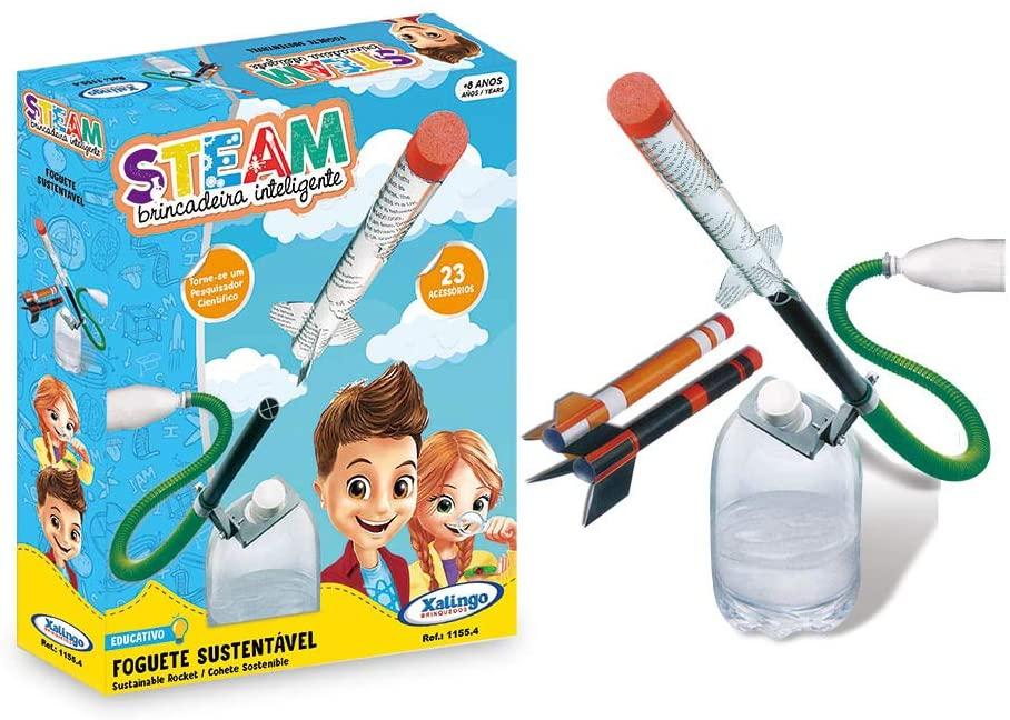Steam Foguete Sustentável - Xalingo