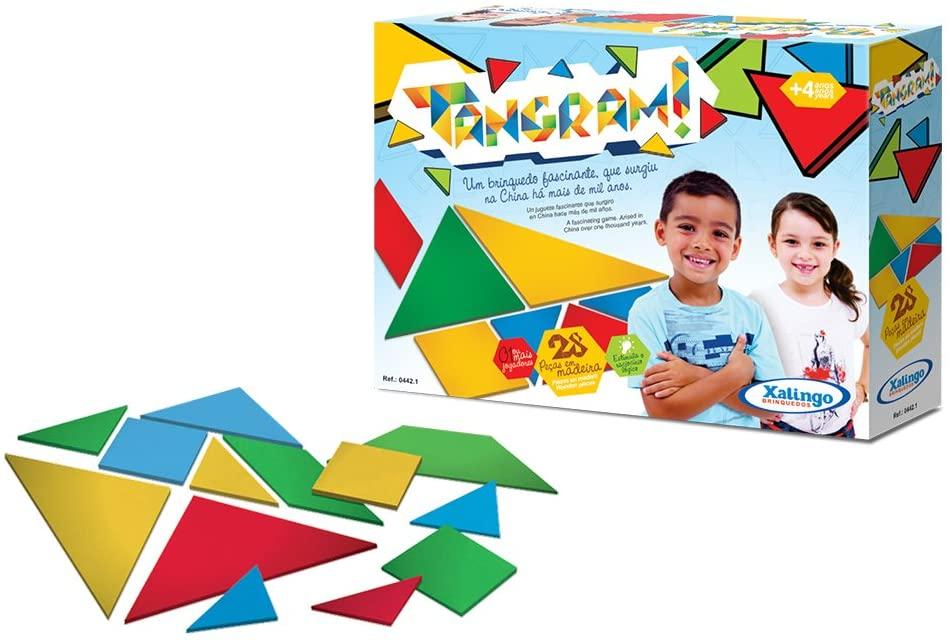 Brinquedo Educativo Tangram - Envio Imediato