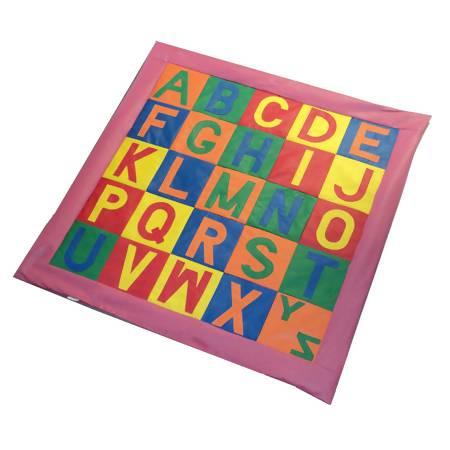 Tapete Alfabeto 2,00 x 2,00m - Envio Imediato