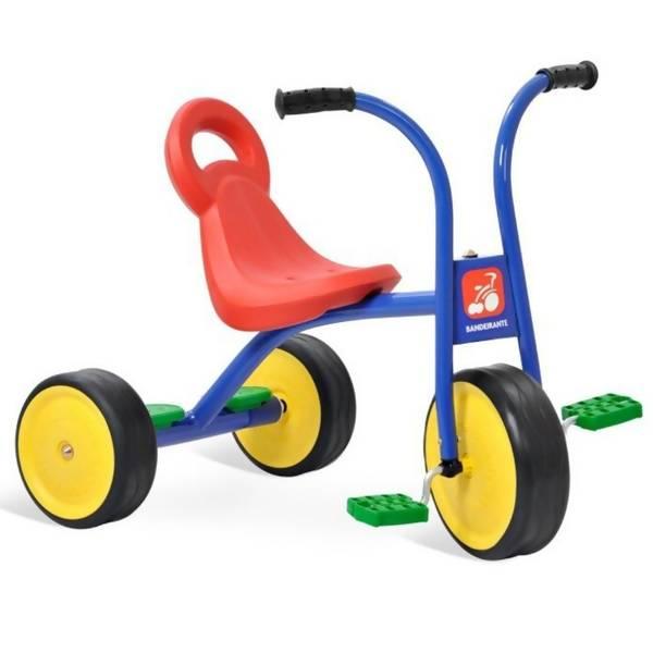 Triciclo Escolar Pega Carona - Brinquedos Bandeirante