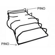 Grade MULLER PIACERE CENTRAL - Pino Lateral Diagonal - 44cm x Largura Maior 27cm x Largura Menor 21cm - Ref. 02900