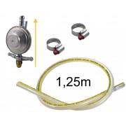 Kit Gás Doméstico - Regulador VINIGÁS 1Kg EXCEL - Mangueira Normatizada 1,25m - Ref: 01189