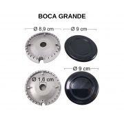 Kit Queimadores Fogão BRASTEMP/CONSUL 4 Bocas - Ref. KQFBC4B