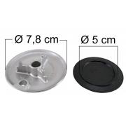 Queimador Completo ELECTROLUX CELEBRATION Boca Pequena - Ref. QCECBBP