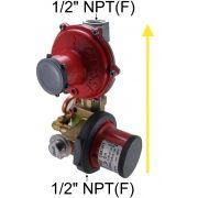 Regulador de Gás CLESSE - 12m³/h - Gás Natural (GN) - BP2202 com OPSO - Ref. 02700