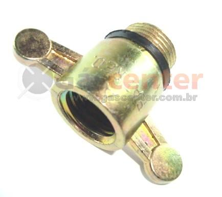 Adaptador Botijão P2 (Rosca Fina) - Ref. 00112