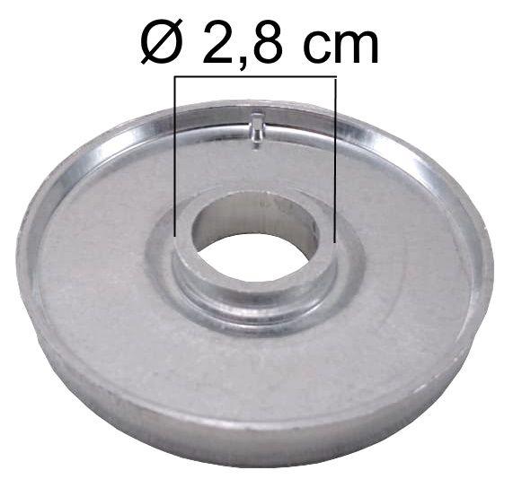 Bacia DAKO LUNA da Boca Grande - Furo de Encaixe 2,8cm - Ref. 00852