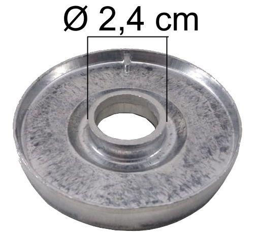 Bacia DAKO LUNA da Boca Pequena - Furo de Encaixe 2,4cm - Ref. 00851
