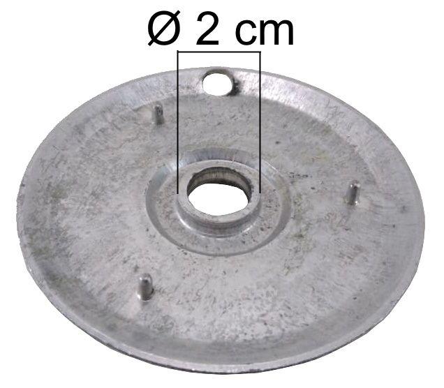 Bacia DAKO/MULLER da Boca Grande - Furo de Encaixe 2cm - Ref. 00859