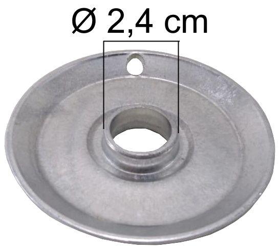 Bacia DAKO/MULLER da Boca Pequena - Furo de Encaixe 2,4cm - Ref. 02119