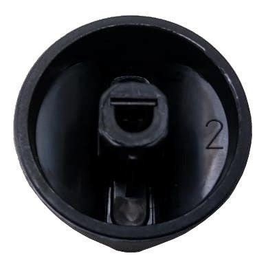 Botão Manípulo METÁLICO MULTIMARCAS - Encaixe Horizontal - Ref. 02887