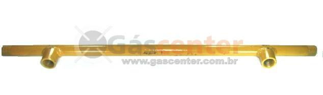 """Coletor para Central de Gás 2 Saídas - 1/2"""" NPT - Ref. 01289"""