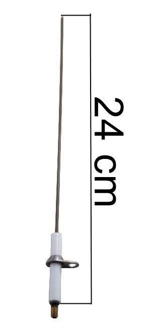 Vela/Eletrodo Acendimento Automático CANDELA LONGA - Sem Fiação - Ref. 02515