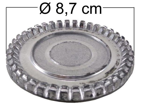 Espalhador de Chama BRASTEMP CLEAN ANTIGO da Boca Grande - Ref. 00812