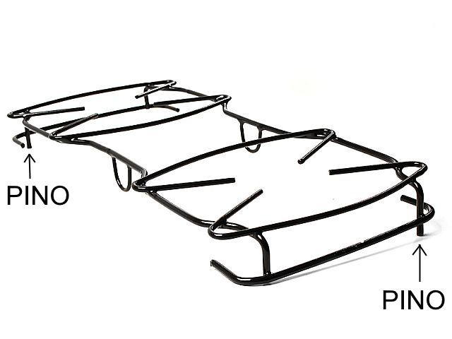 Grade ATLAS COLISEU PEQUENA - Pino Lateral Diagonal - 41,8cm x 18cm - Ref. 02628