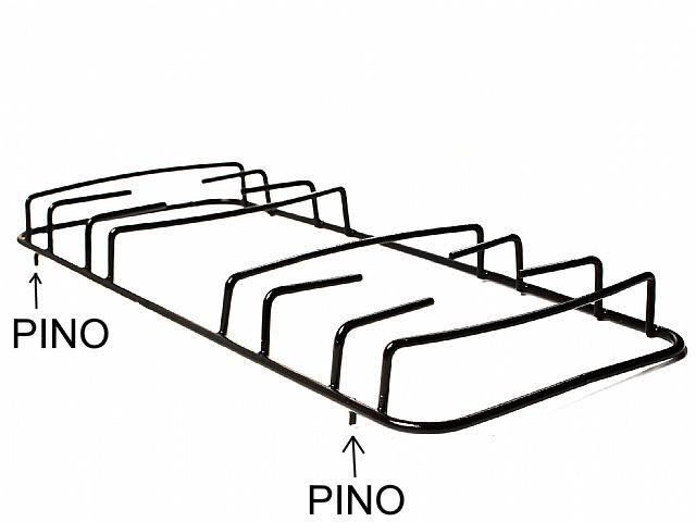 Grade ESMALTEC BALI HAWAI CARIBE - Pino Lateral - 43cm x 18,2cm - Ref. 01102