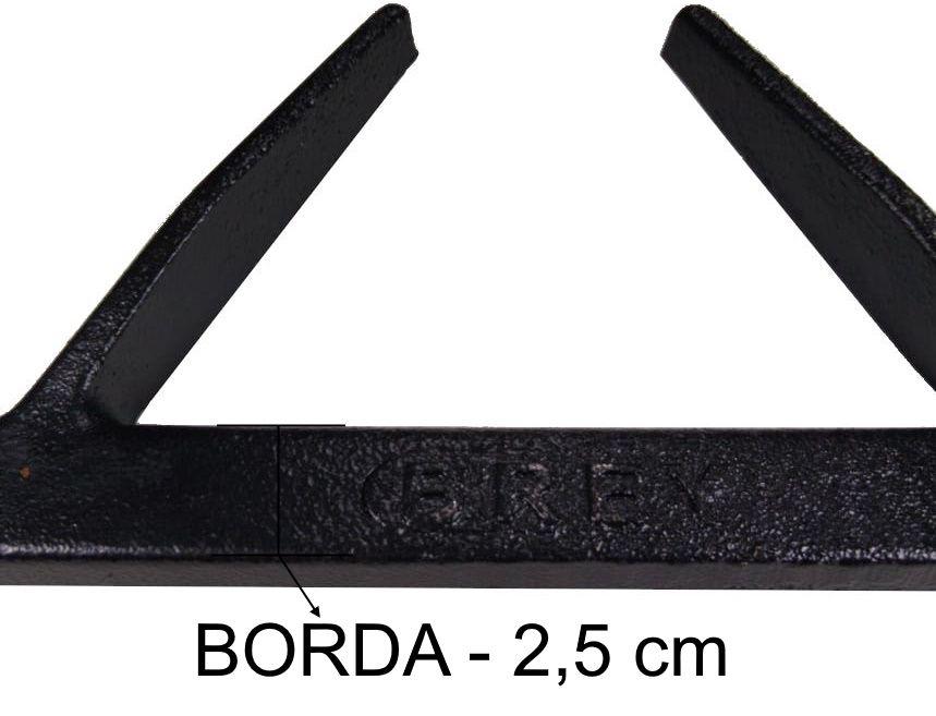 Grade Fogão Industrial 30x30 - 6 Braços - BREY - Ref. 02425