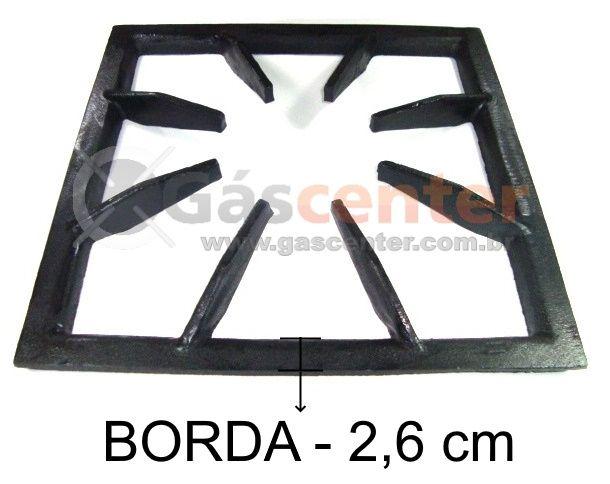 Grade Fogão Industrial 32x32 - 8 Braços - Ref. 01642