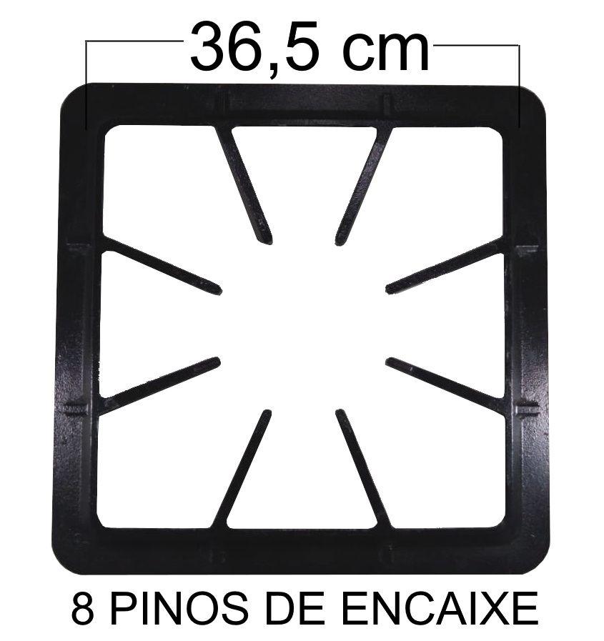 Grade Fogão Industrial 40x40 - 8 Braços - BREY - Ref. 02426