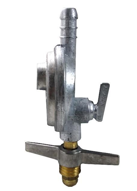 Kit Gás Doméstico - Regulador ALIANÇA 1Kg 505/1 - Mangueira Normatizada 1,25m - Ref: 02016