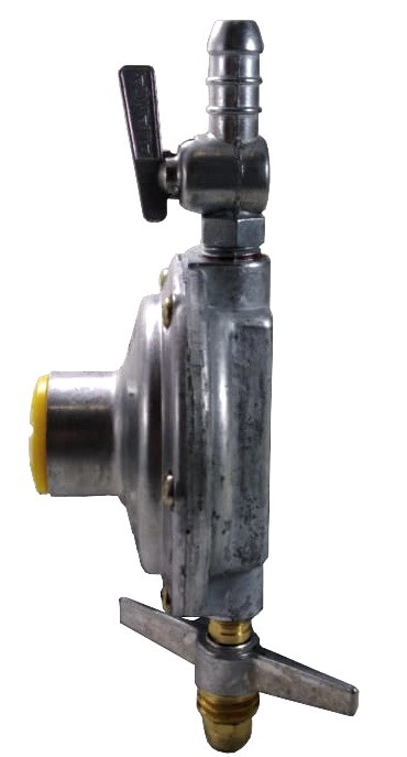 Kit Gás Doméstico - Regulador ALIANÇA 2Kg 506/01 - Mangueira Normatizada 1,25m - Ref: 00522