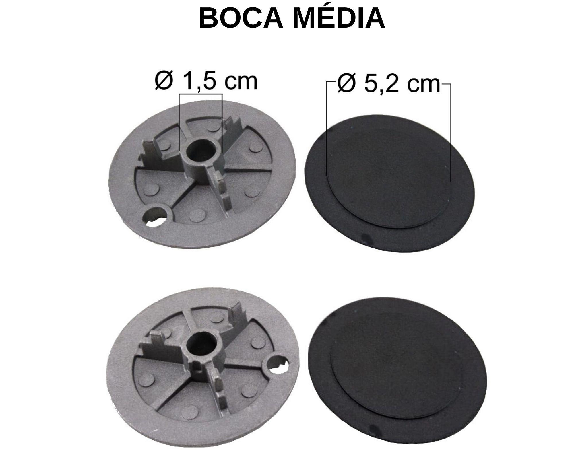 Kit Queimadores Fogão ELECTROLUX 6 Bocas - Ref. KQFE6B