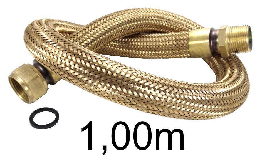 "Mangueira Flexível Tomback 1"" - 1,00m - Ref. 01607"