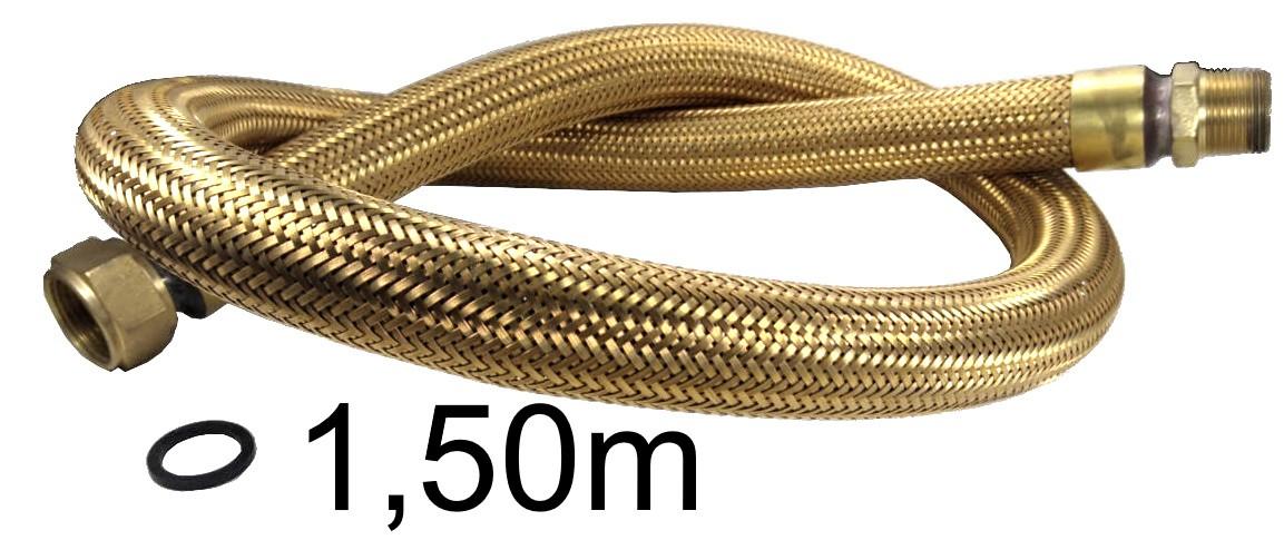 "Mangueira Flexível Tomback 1"" - 1,50m - Ref. 01609"