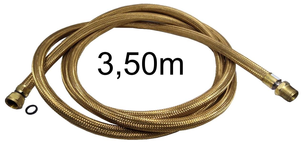 "Mangueira Flexível Tomback 1/2"" - 3,50m - Ref. 00810"