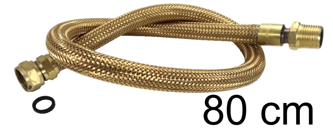 "Mangueira Flexível Tomback 1/2"" - 80cm - Ref. 00803"