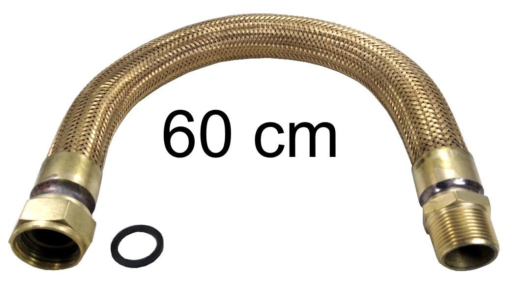 "Mangueira Flexível Tomback 1"" - 60cm - Ref. 02039"