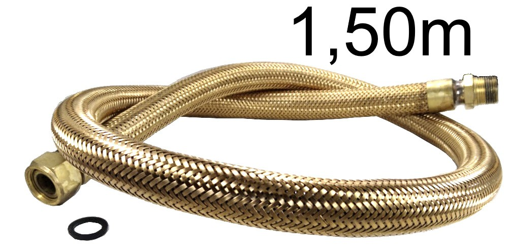 "Mangueira Flexível Tomback 3/4"" - 1,50m - Ref. 01603"