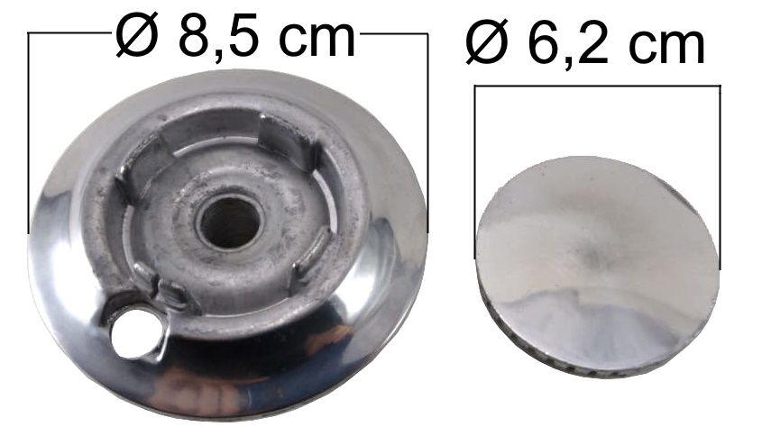 Queimador Completo BRASTEMP CLEAN ANTIGO Boca Pequena - Ref. QCBCABP