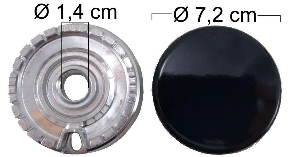 Queimador Completo BRASTEMP/CONSUL AROMA/ATIVE Boca Pequena - Ref. QCBCAABP